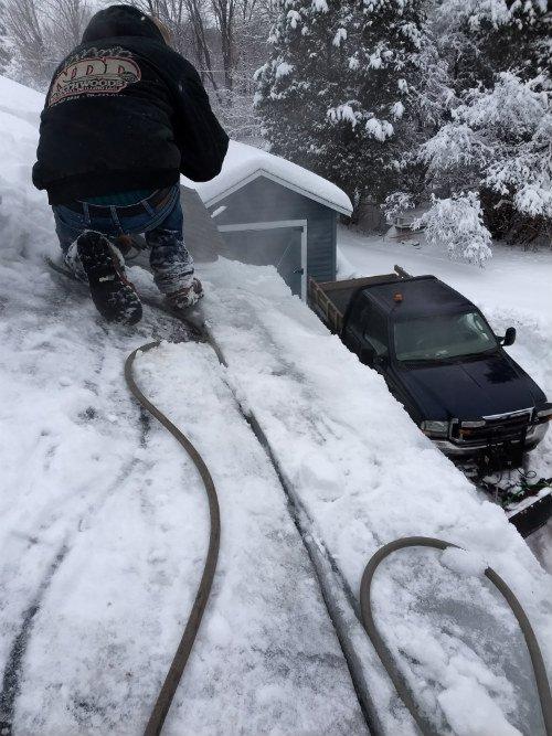 Removing Ice Dams